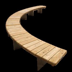 Деревянные скамейки и урны купить в Москве