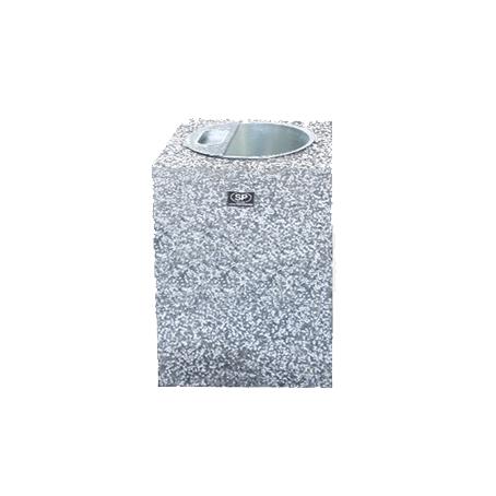 Декоративная урна из бетона