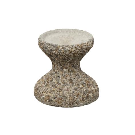 Вазон из декоративного бетона