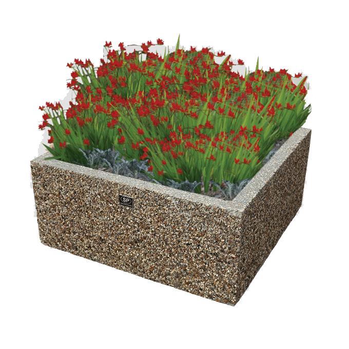 Вазон для парка из бетона